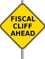 Fiscal Cliff Ahead Image