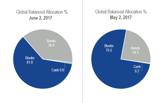 Fund Positioning June 2017 Pie Charts