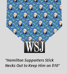 Hamilton Tie WSJ Article Sidebar Art