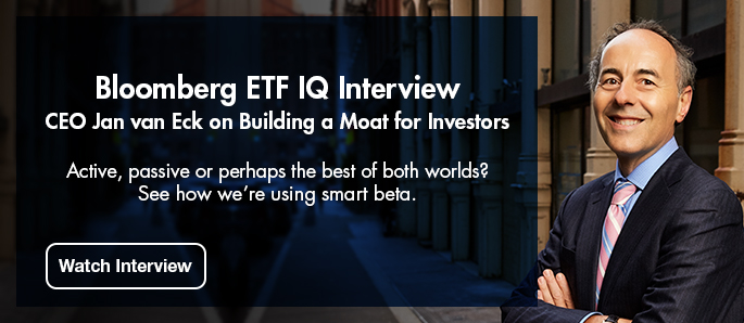 Click here to watch CEO Jan van Eck's Bloomberg ETF IQ Interview
