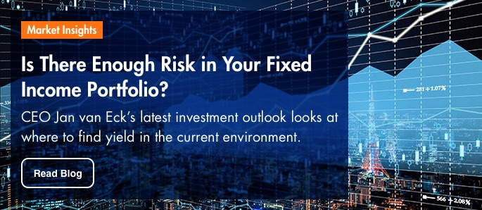 Market Insights: Is there enough risk in your fixed income portfolio?