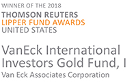 2018 Thomson Reuters Lipper Fund Award