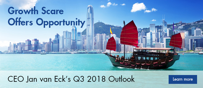 3Q'18 Investment Outlook: Growth Scare Offers Opportunity