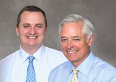 Photo of Gregory Krenzer and Roland Morris Jr. Portfolio Managers
