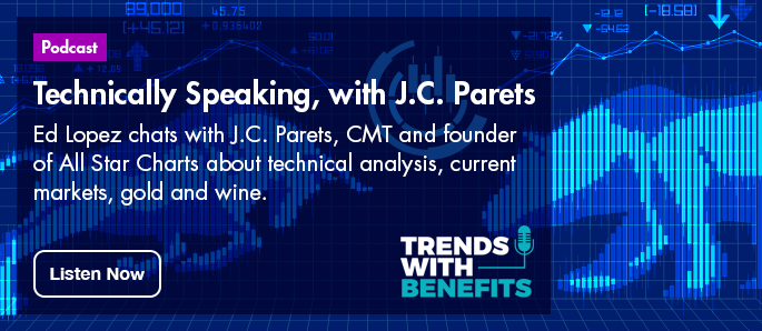 Click here to listen to the latest Trends with Benefits podcast - Technically Speaking with J.C. Partes