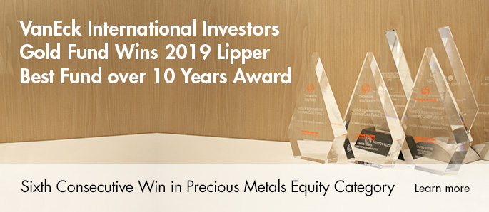 International Investor's Gold Lipper Award