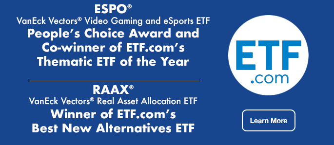 RAAX and ESPO Win ETF.com Award