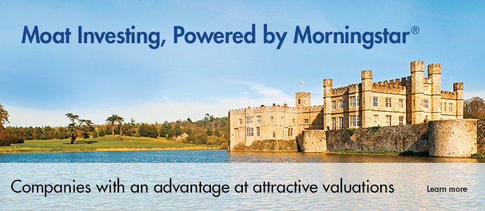 Moat Investing, Powered by Morningstar